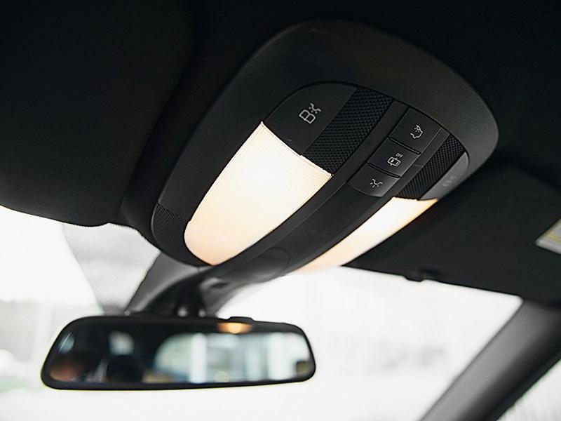 Mercedes-Benz ML 350 2008 освещение салона