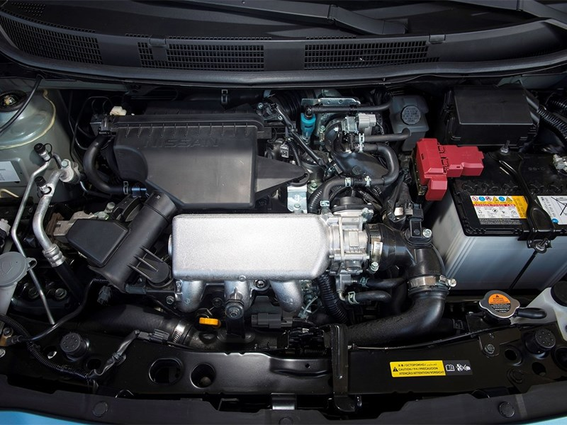 Nissan Micra 2013 двигатель
