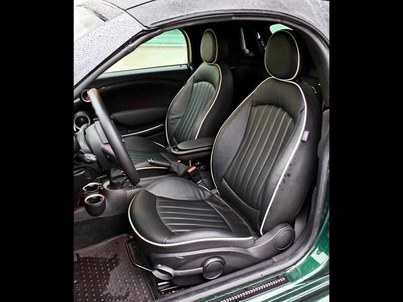 MINI Cooper S Roadster 2012 передние кресла