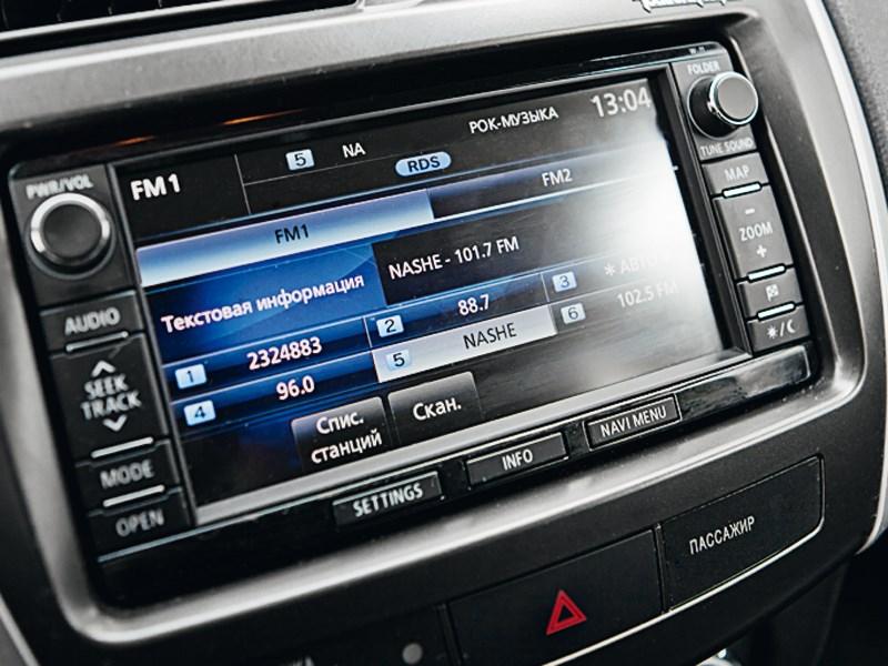 Mitsubishi ASX 2013 монитор