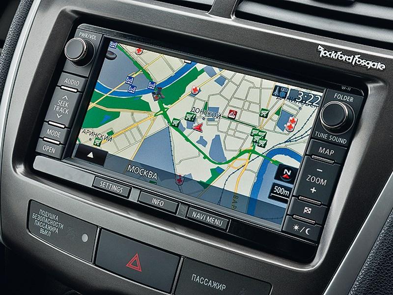 Mitsubishi ASX 2013 навигация