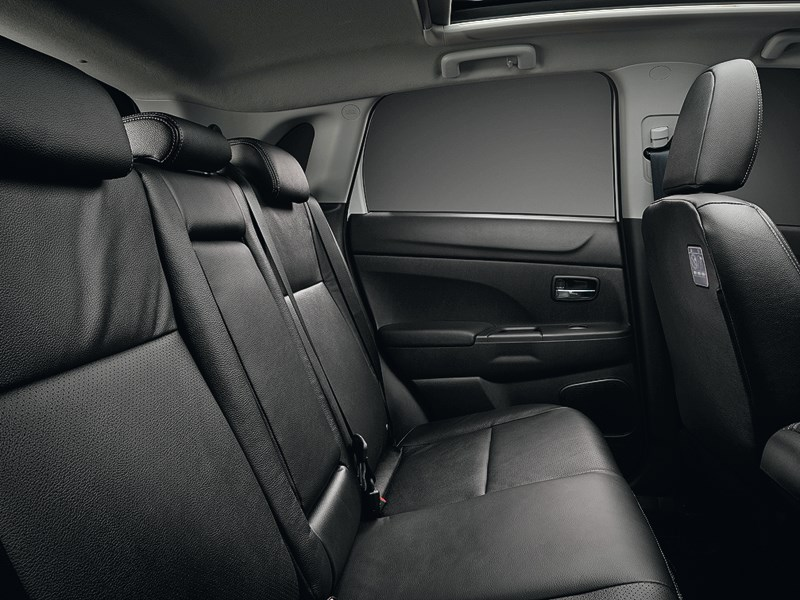 Mitsubishi ASX 2013 задний диван