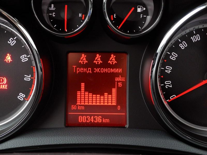 Opel Mokka 2012 приборная панель