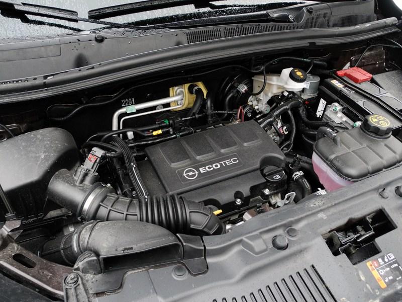 Opel Mokka 2012 двигатель