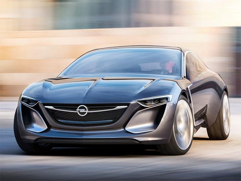 Opel Monza концепт 2013 вид спереди