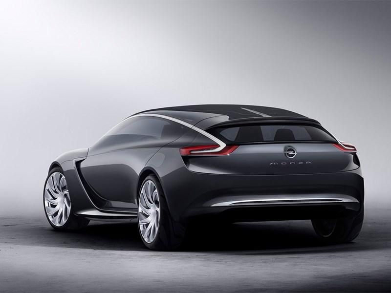 Opel Monza концепт 2013 вид сзади