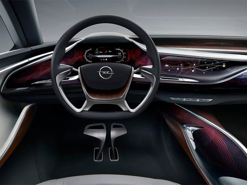 Opel Monza концепт 2013 водительское место