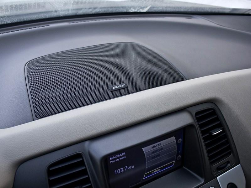 Nissan Murano 2010 аудиосистема Bose
