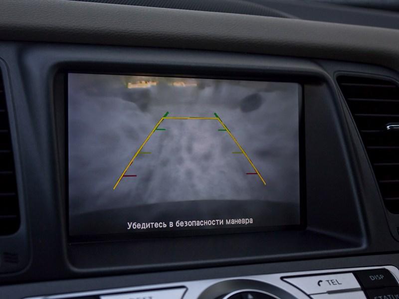 Nissan Murano 2010 монитор