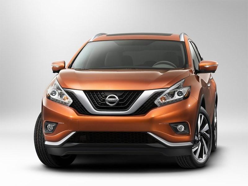 Nissan Murano 2015 вид спереди