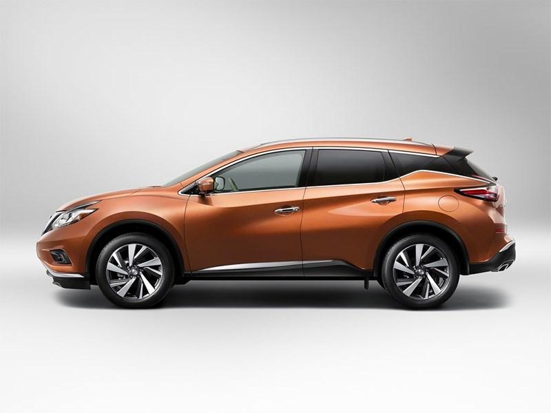 Nissan Murano 2015 вид сбоку
