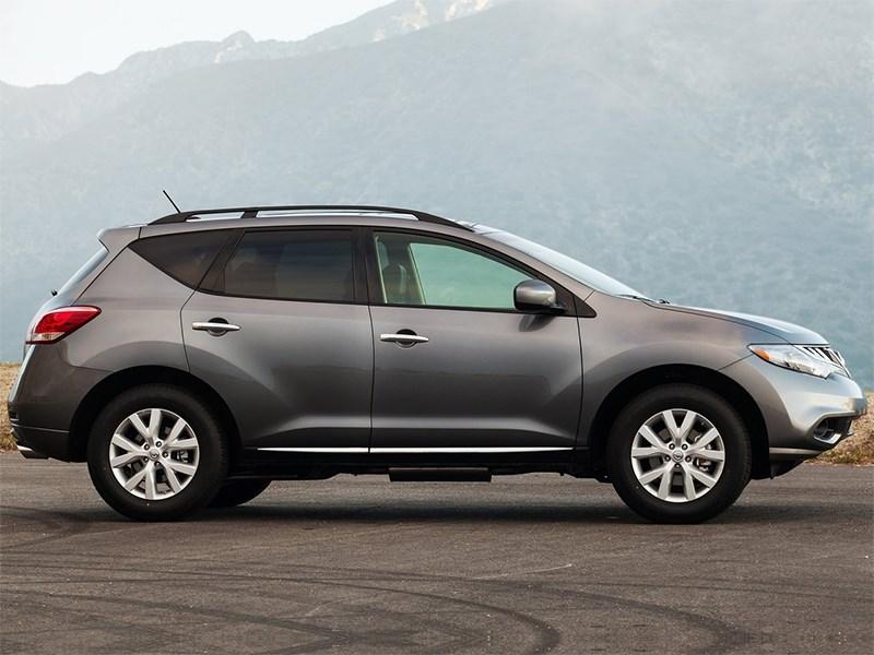 Nissan Murano 2013 вид сбоку
