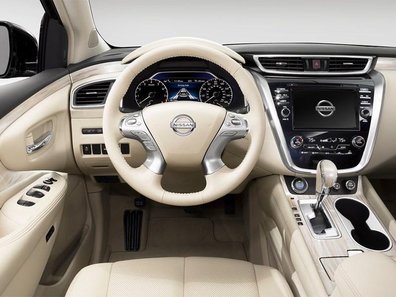 Nissan Murano 2015 водительское место