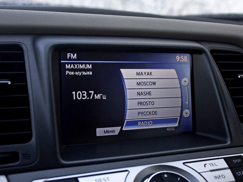 Nissan Murano 2010 семидюймовый экран