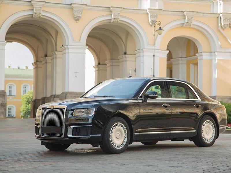 В сети появилось первое официально фото седана Aurus Senat Фото Авто Коломна