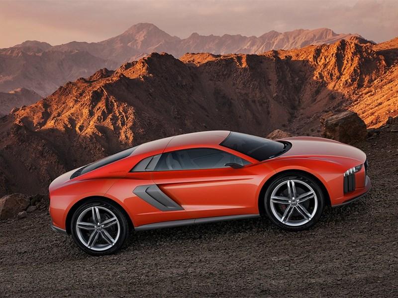 Audi Nanuk quattro concept 2013 вид сбоку