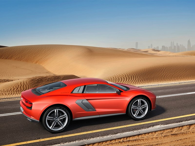 Audi Nanuk quattro concept 2013 вид сбоку 2