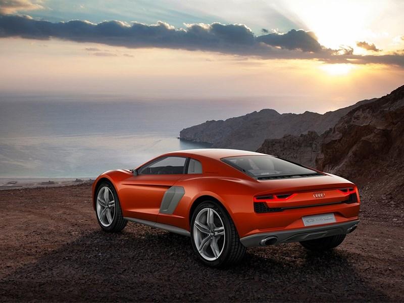 Audi Nanuk quattro concept 2013 вид сзади