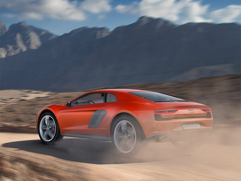 Audi Nanuk quattro concept 2013 вид сзади 3