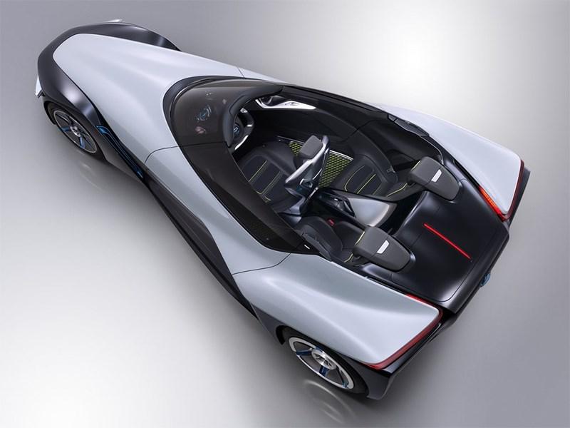 Nissan BadeGlayder concept 2013 вид сверху