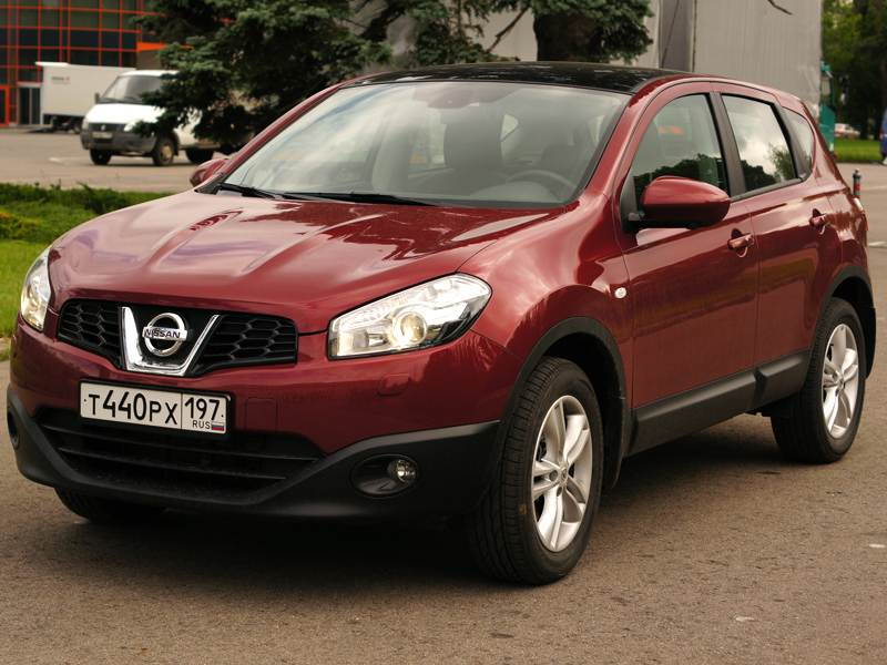 Nissan Qashqai - nissan qashqai 2010 вид спереди