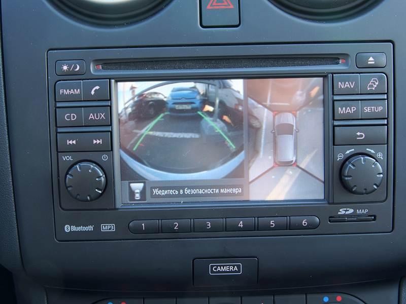 Nissan Qashqai 2010 мультимедийная система