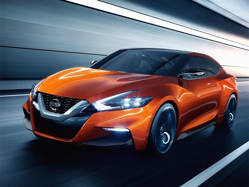 Новый Nissan Sport Sedan - Nissan Sport Sedan concept 2014 вид спереди