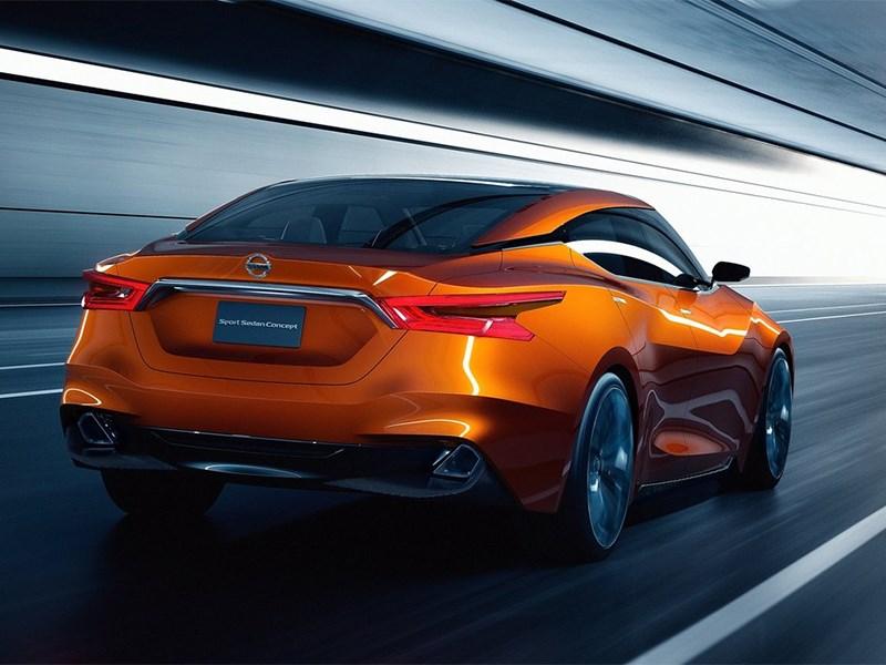 Nissan Sport Sedan concept 2014 вид сзади