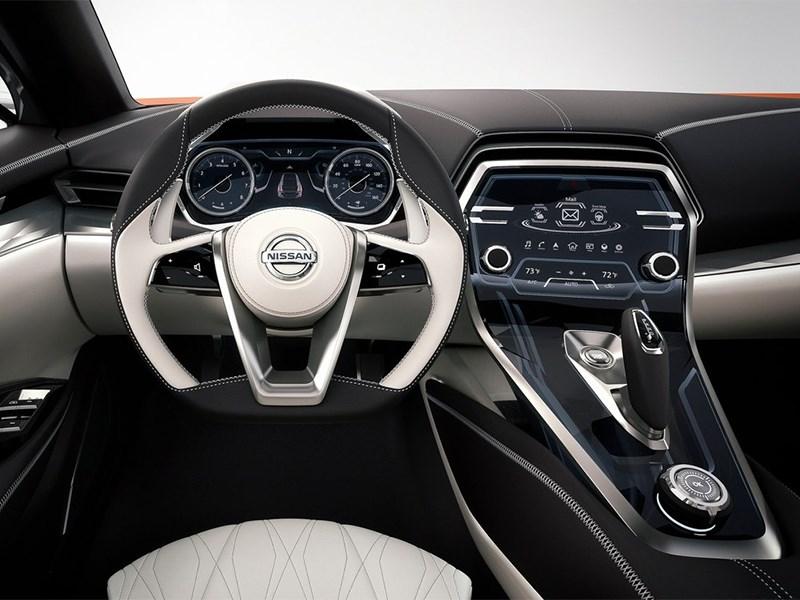 Nissan Sport Sedan concept 2014 водительское место