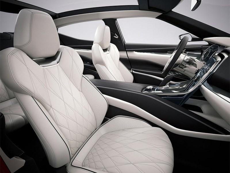 Nissan Sport Sedan concept 2014 передние кресла