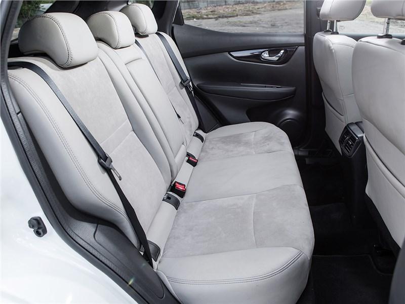 Nissan Qashqai 2014 задний диван