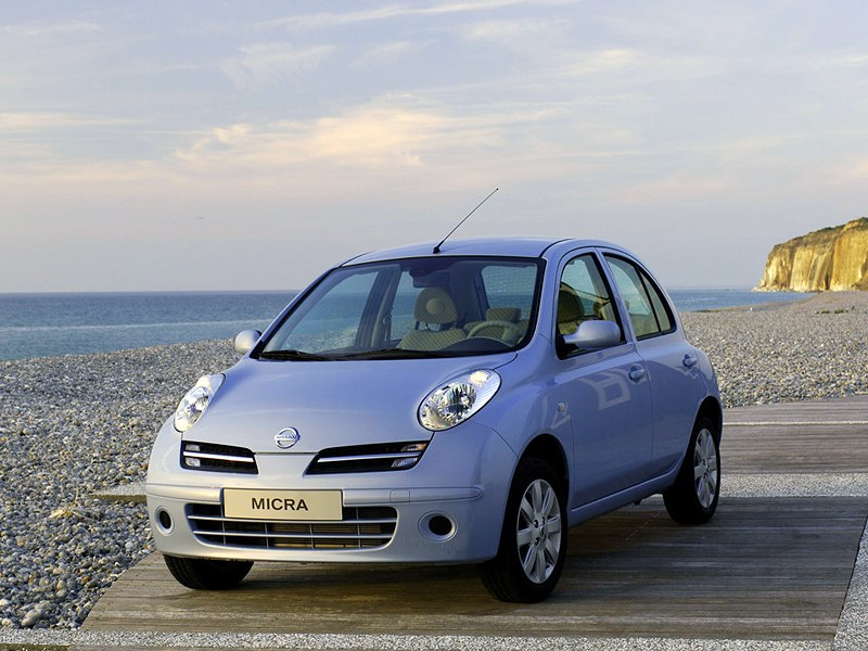 Долговечные игрушки (Nissan Micra, Toyota Yaris, Subaru Justy, Suzuki Swift) Micra поколение K12
