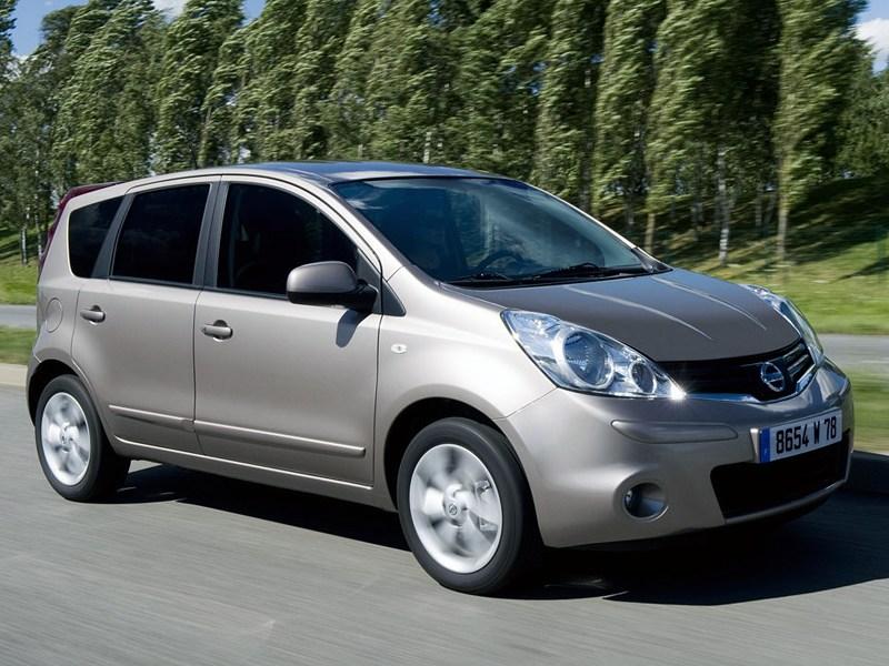 Большое в малом (Ford Fusion,Nissan Note,Opel Meriva,Honda Jazz) Note поколение I рест.
