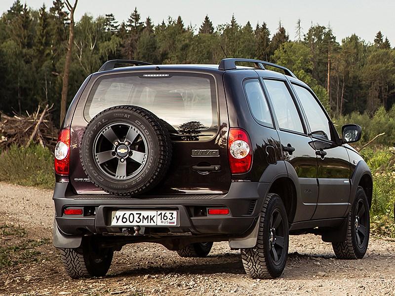 Chevrolet NIVA 2009 вид сзади