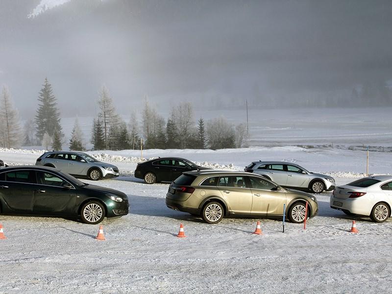 Четыре на четыре от Opel