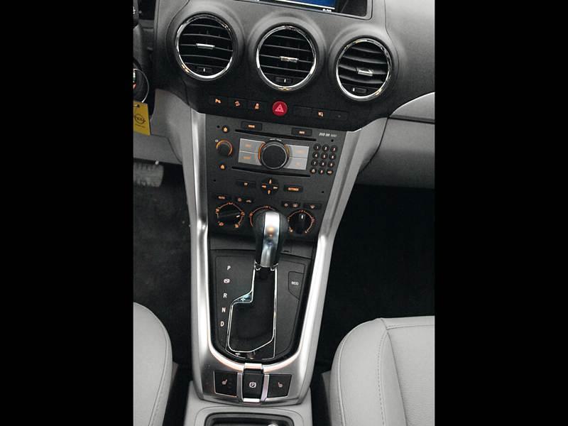 Opel Antara 2012 центральная консоль