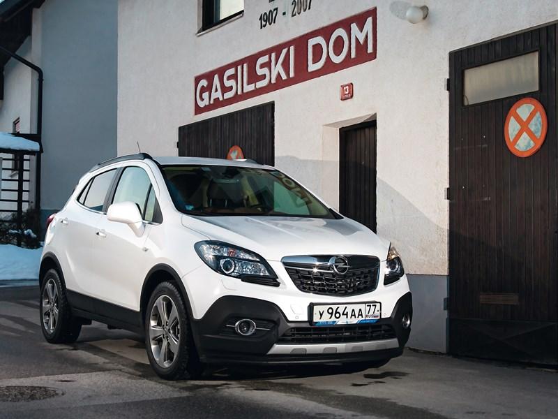 Opel Mokka - opel mokka 2013 вид спереди