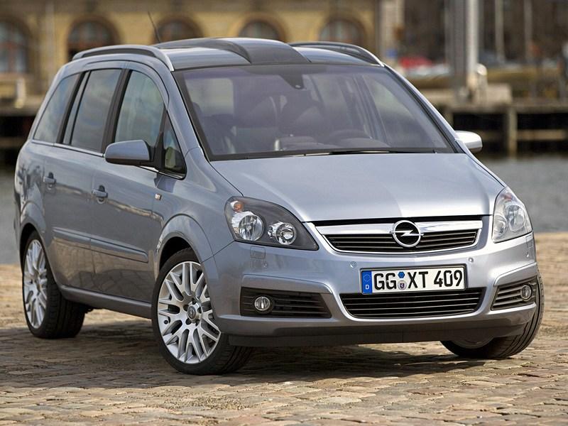 Удобно и практично (Ford Focus C-Max, Opel Zafira, VW Touran) Zafira поколение B