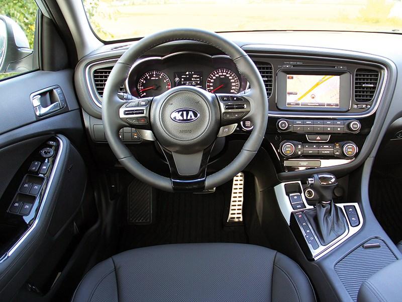 Kia Optima 2014 водительское место