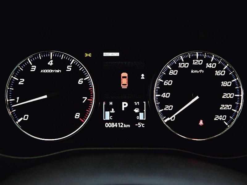 Mitsubishi Outlander 2012 приборная панель