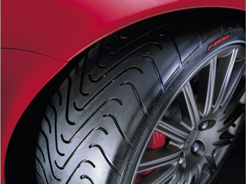 Шины Pirelli P-Zero на Maserati 3200 GT Assetto Corsa