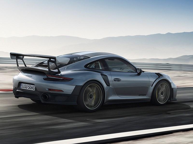 Porsche представила самый быстрый вариант купе 911