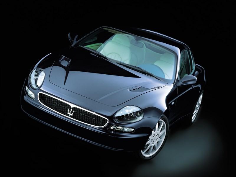 Maserati 3200 GT вид в три четверти спереди