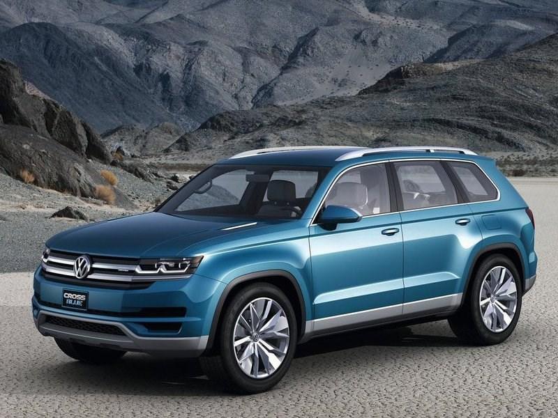 Volkswagen приоткрыл дизайн своего нового кроссовера
