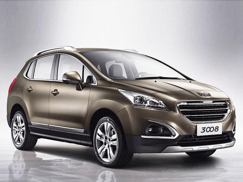Peugeot 3008 2013 вид спереди