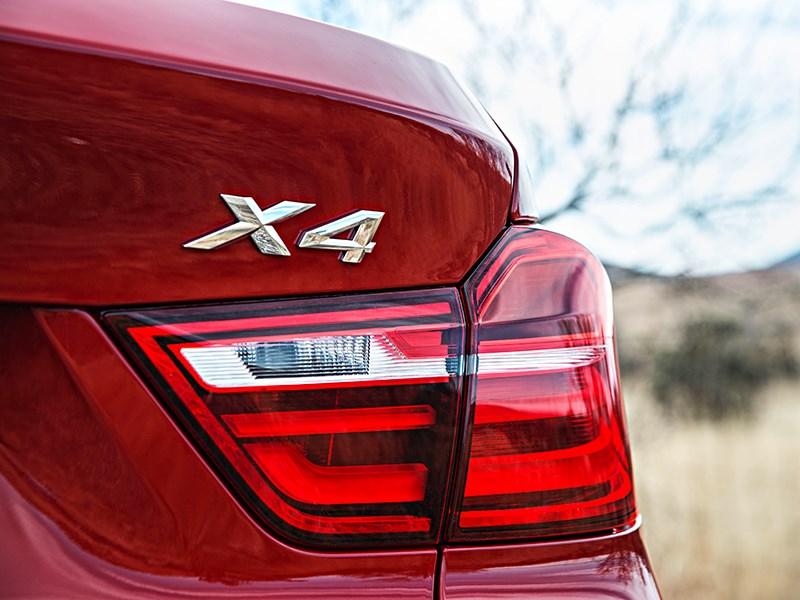 BMW X4 2014 задний фонарь фото 1