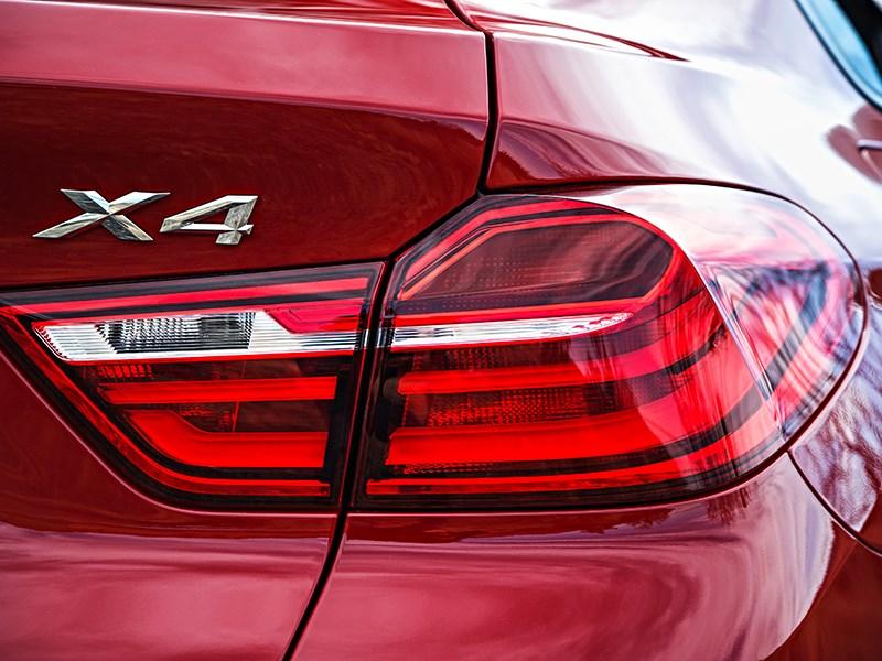 BMW X4 2014 задний фонарь фото 2