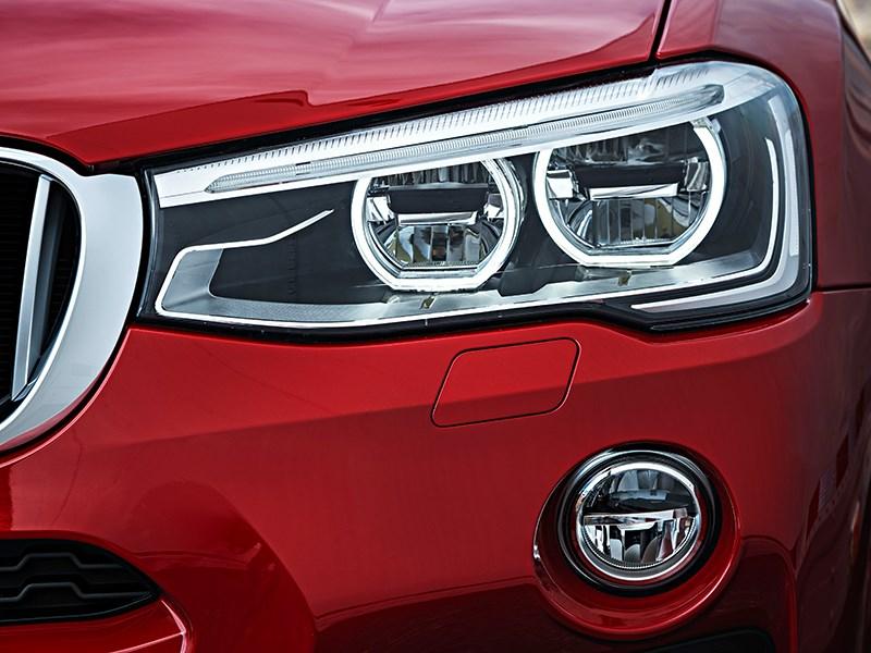 BMW X4 2014 передняя фара фото 1