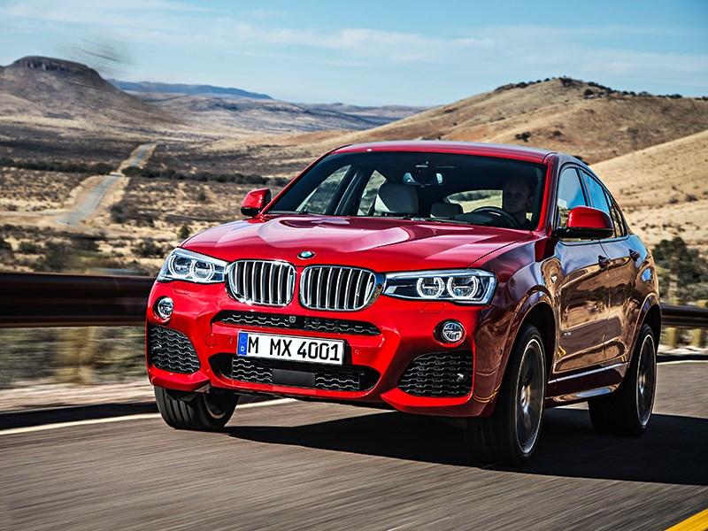 Новый BMW X4 (БМВ Х4) - обзор, цены, фото, технические ...