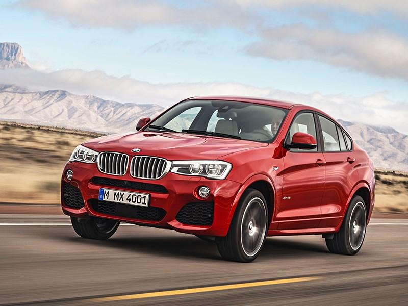 BMW X4 2014 вид сбоку фото 1